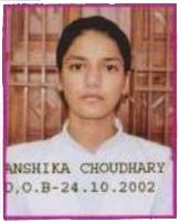 Anshika Choudhary